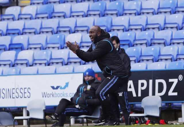 Sheffield Wednesday manager Darren Moore pictured on March 6, 2021