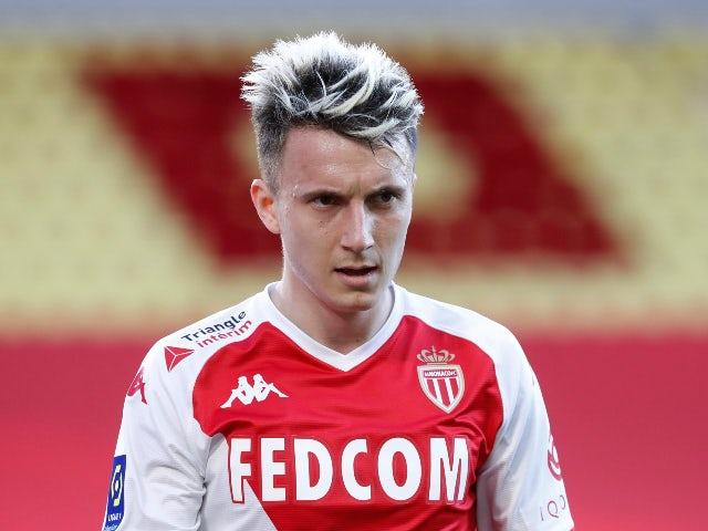 Aleksandr Golovin in action for Monaco in March 2021