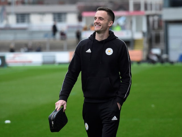 Andy King from Leicester City, pictured on January 6, 2019