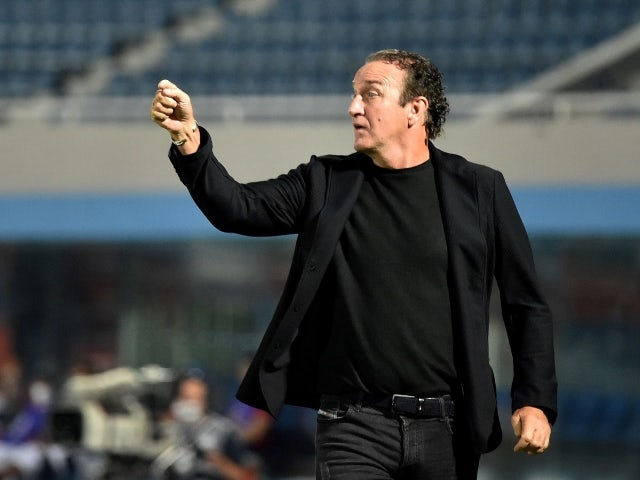 Atletico Mineiro coach Cuca during the game on May 19, 2021