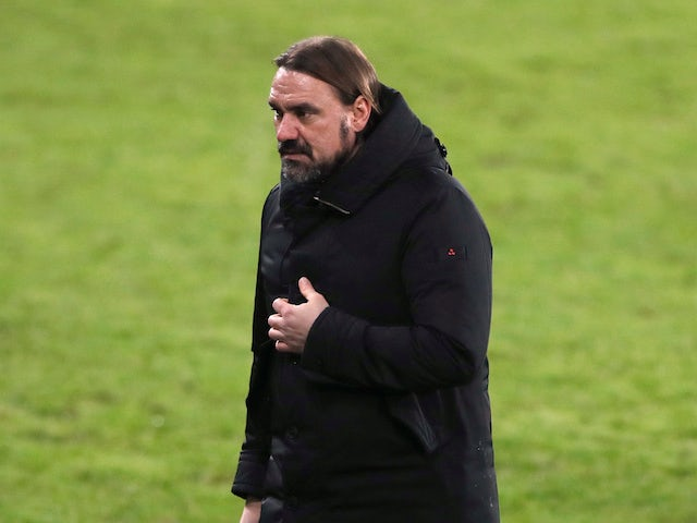 Norwich City manager Daniel Farke pictured in February 2021
