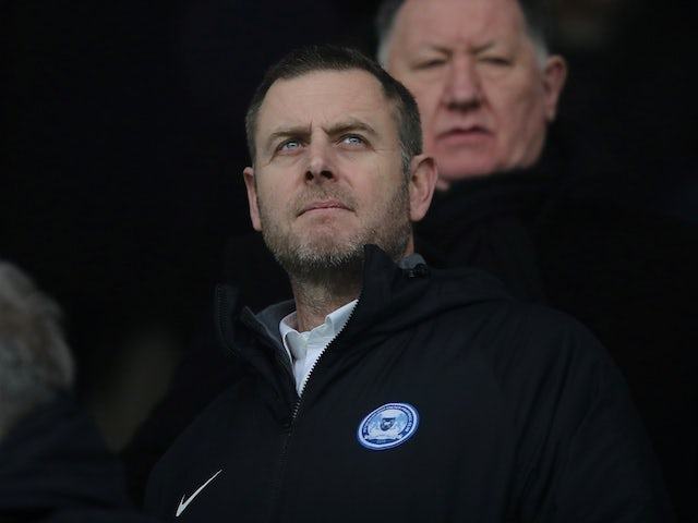 Peterborough chairman Darragh MacAnthony pictured in January 2020