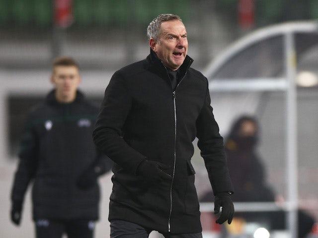 LASK Linz manager Dominik Thalhammer pictured on November 26, 2020
