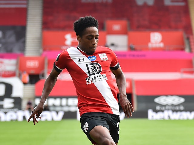 Southampton's full-back Kyle Walker-Peters pictured in July 2020