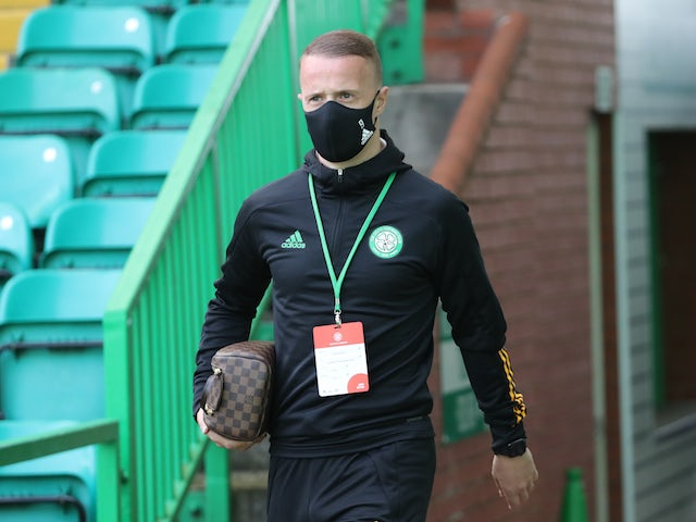 Celtic striker Leigh Griffiths pictured in September 2020