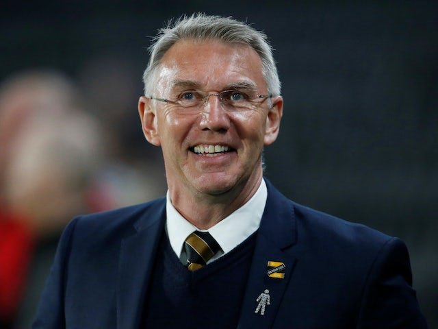 Nigel Adkins in charge of Hull;  City on February 26, 2019