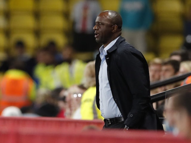 Crystal Palace manager Patrick Vieira looks ahead to August 24, 2021