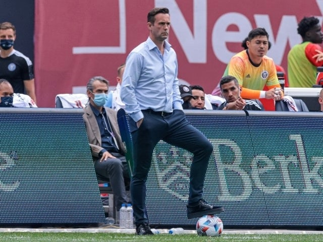 New York City FC head coach Ronny Deila on May 15, 2021