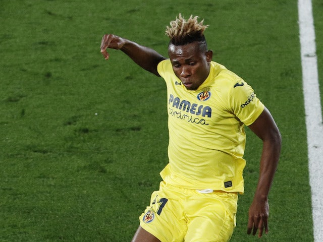 Villarreal's Samuel Chukwueze pictured in November 2020
