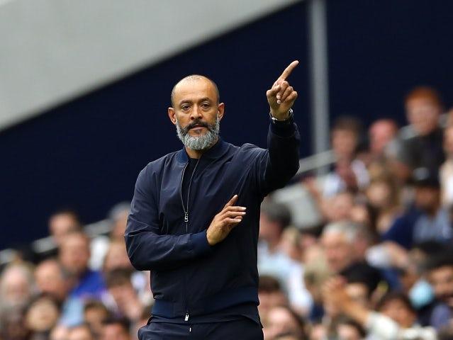 Tottenham Hotspur manager Nuno Espirito Santo pictured in August 2021