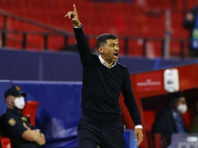 Porto coach Sergio Conceicao pictured on April 13, 2021