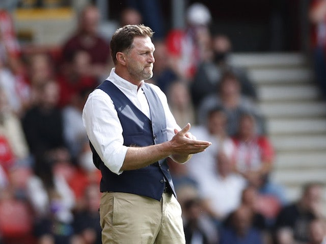 Southampton coach Ralph Hasenhüttl pictured on September 11, 2021
