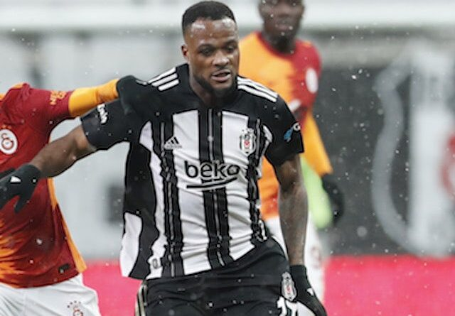 Besiktas striker Cyle Larin pictured in January 2021