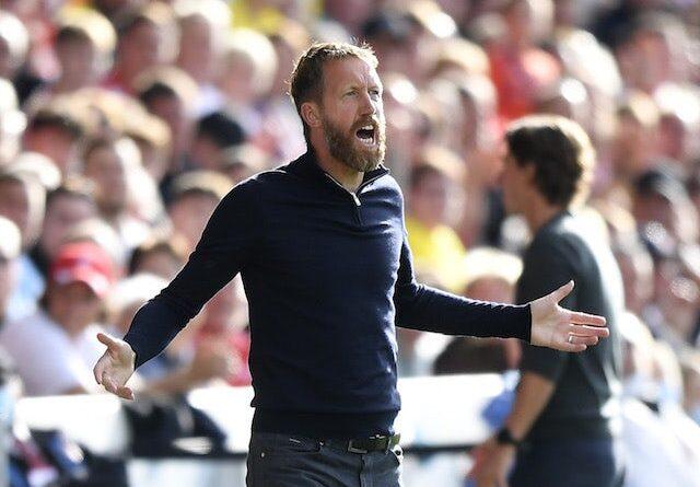 Brighton & Hove Albion Manager Graham Potter on September 11, 2021