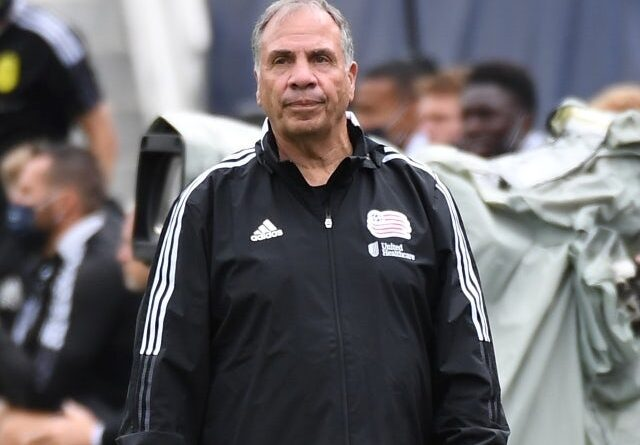 New England Revolution head coach at Bruce Arena on May 8, 2021