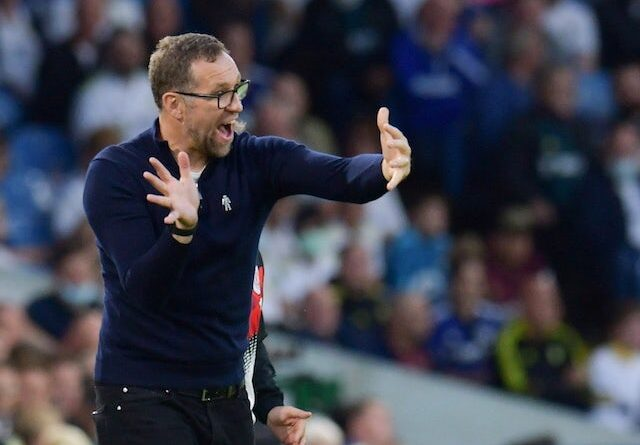 Crewe Alexandra manager David Artell on August 24, 2021