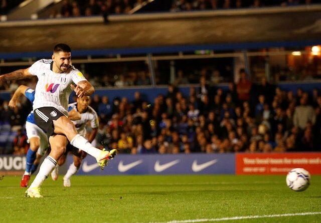 Fulham's Aleksandar Mitrovic will face Birmingham City on September 15, 2021
