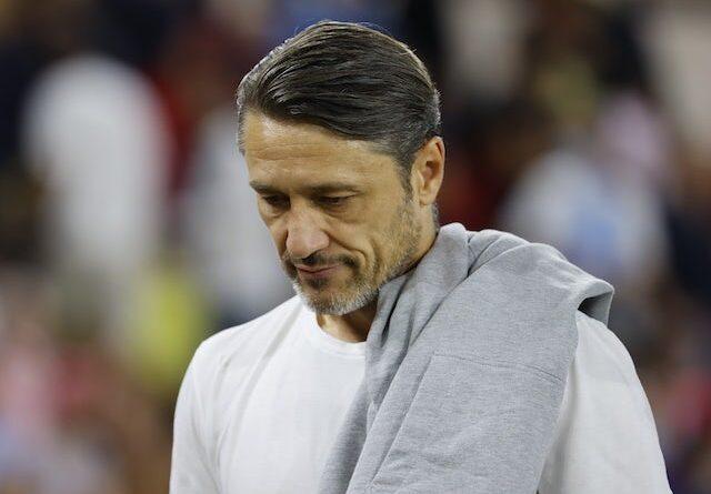 Monaco head coach Niko Kovac pictured on September 11, 2021