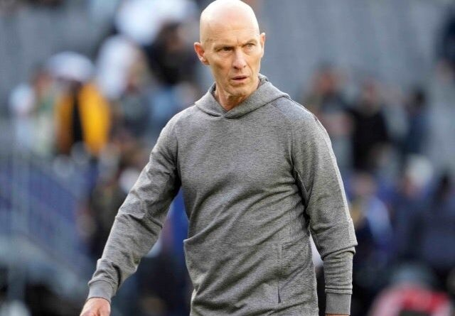 Los Angeles FC manager Bob Bradley on May 9, 2021