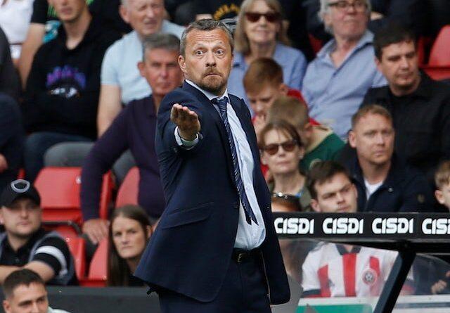 Sheffield United manager Slavisa Jokanovic on September 11, 2021