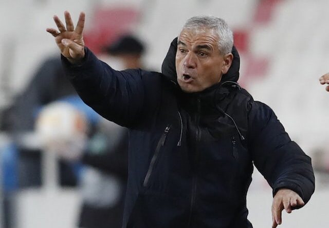 Sivasspor Riza Calimbay pictured on November 5, 2020