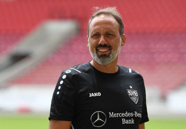 Stuttgart's head coach Pellegrino Matarazzo pictured on July 12, 2021