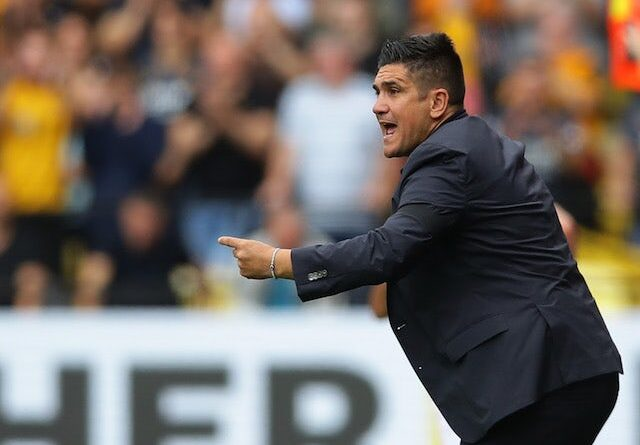 Watford manager Xisco Munoz on September 11, 2021